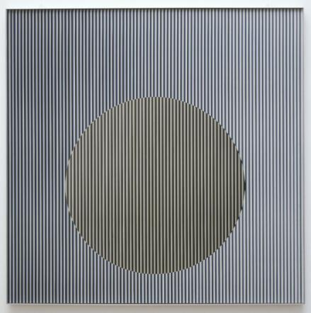 Physichromie No. 113 1963, reconstructed 1976 Carlos Cruz-Diez born 1923 Presented by the artist 1976 http://www.tate.org.uk/art/work/T02094